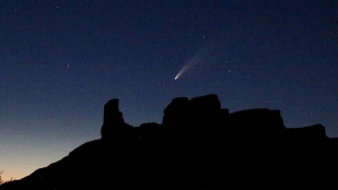 Night-view-Needle-Rock-from-Guest-House-porch